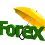 3d image, Investment conceptual, Forex umbrella